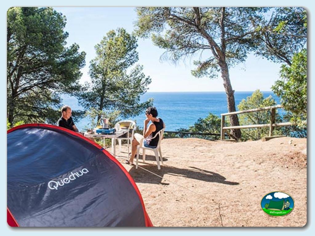 foto del camping Camping Cala Llevadó