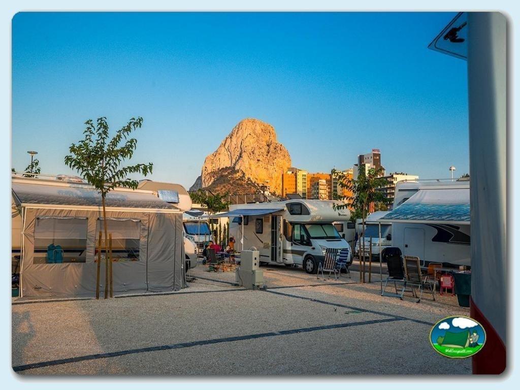 foto del camping Camping Sol de calpe