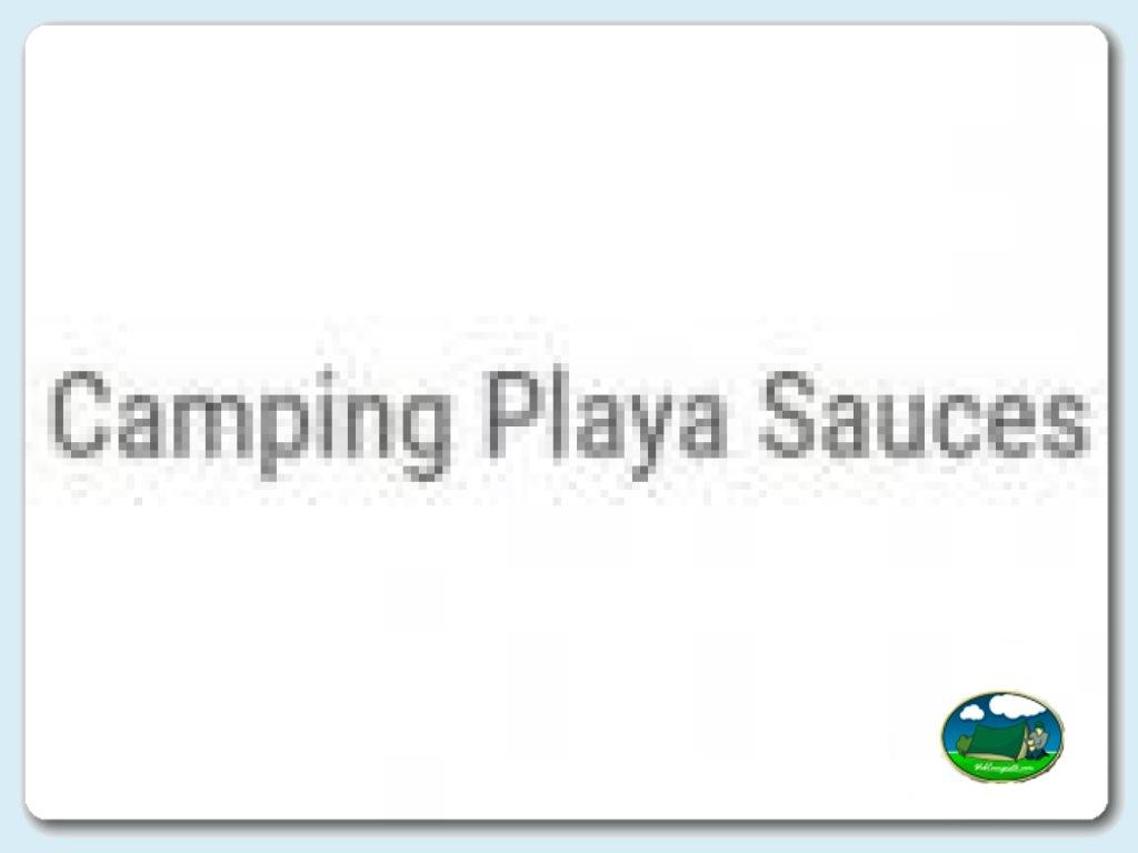 Camping Playa Sauces