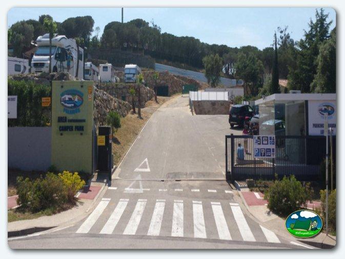 foto del camping Autocaravaning Palamós (Palamós - Girona)